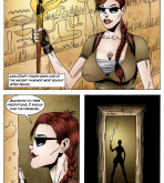 Tomb Raider — [Leandro Comics] — The Pyramids of Egypt And The Secret Temple Of Amon Ra