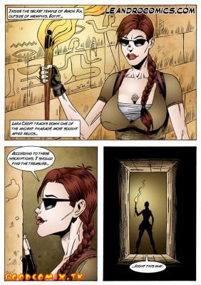Goodcomix Tomb Raider - [Leandro Comics] - The Pyramids of Egypt And The Secret Temple Of Amon Ra