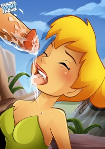 Goodcomix Peter Pan - [Famous Toons Facial][Toon Club][BatoTheCyborg] - Tinker Bell Sucking And Fucking In The Meadow In A Forest
