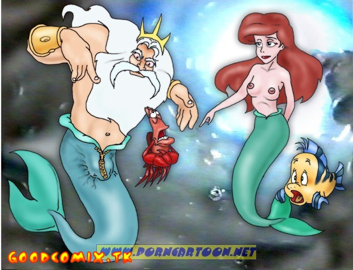 Goodcomix.tk The Little Mermaid - [PornCartoon] - Tireless Neptune