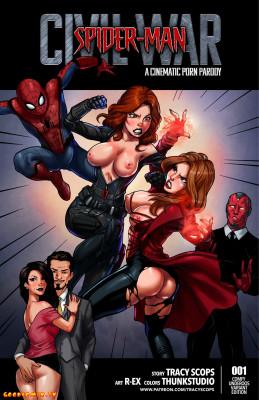 Goodcomix Spider-Man - [Tracy Scops] - Civil War