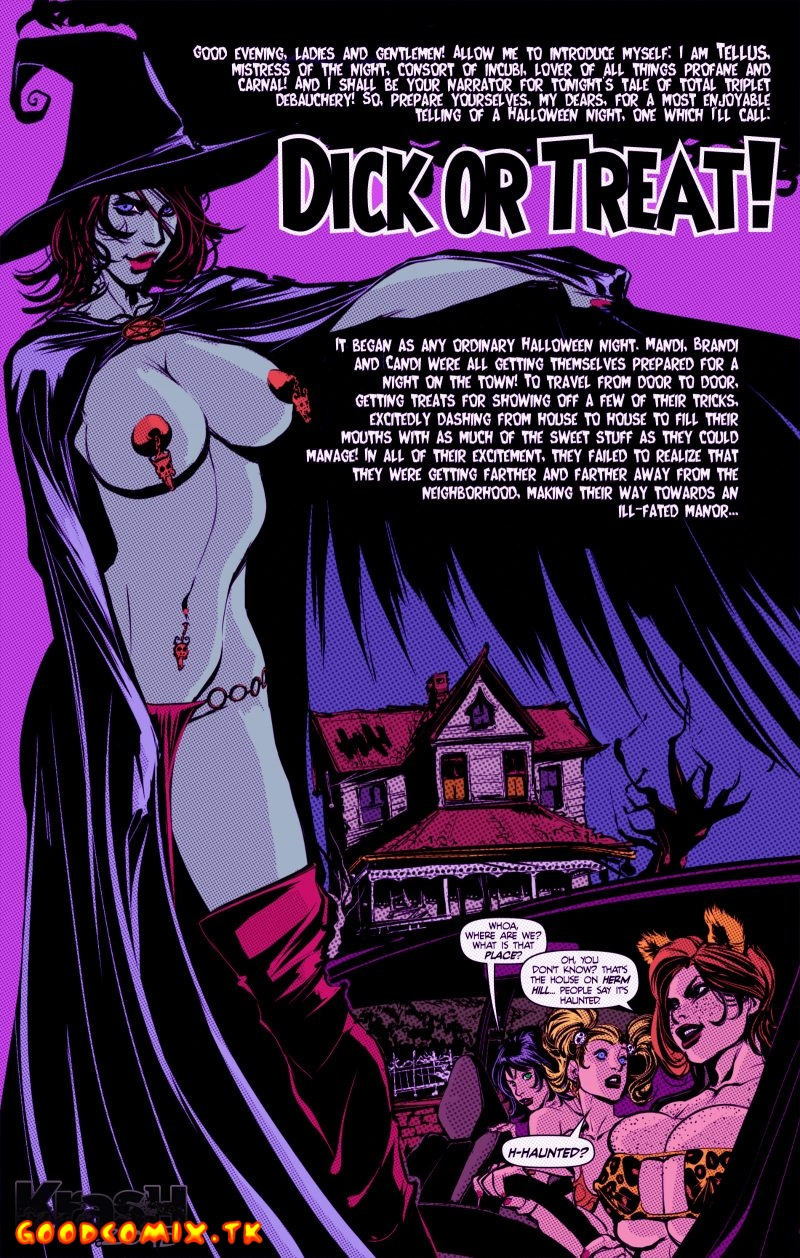 Goodcomix.tk Powerpuff Girls - [Krash] - Dick or Treat