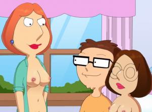 Goodcomix Family Guy & American Dad - [SlappyFrog] - XXX PARODY