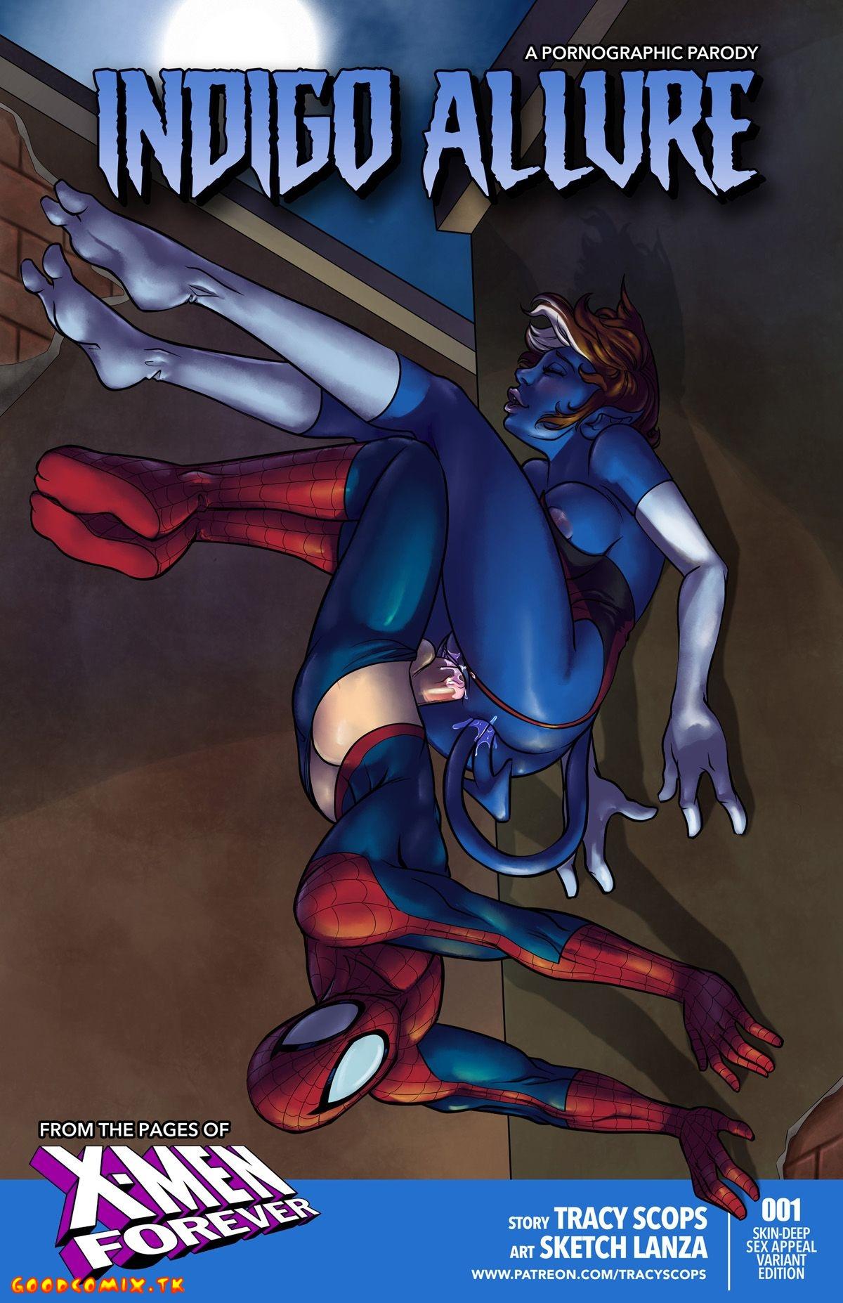 Goodcomix.tk Spider-Man - [Tracy Scops] - Indigo Allure