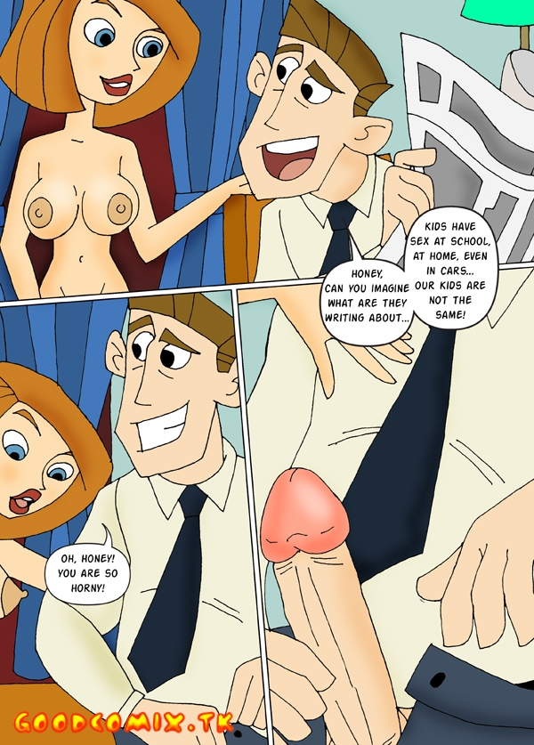 Goodcomix.tk Kim Possible - [CartoonValley][Comic] - Kim Masturbates Watching Mom And Dad Fuck!