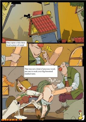 Goodcomix Pinocchio - [Okunev][MessyComics] - Porno Toy-Boy