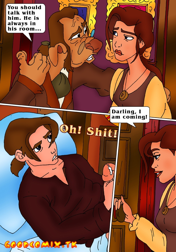 Goodcomix.tk Treasure Planet - [CartoonValley] - Sarah Masturbates And Sucks Her Son's Cock