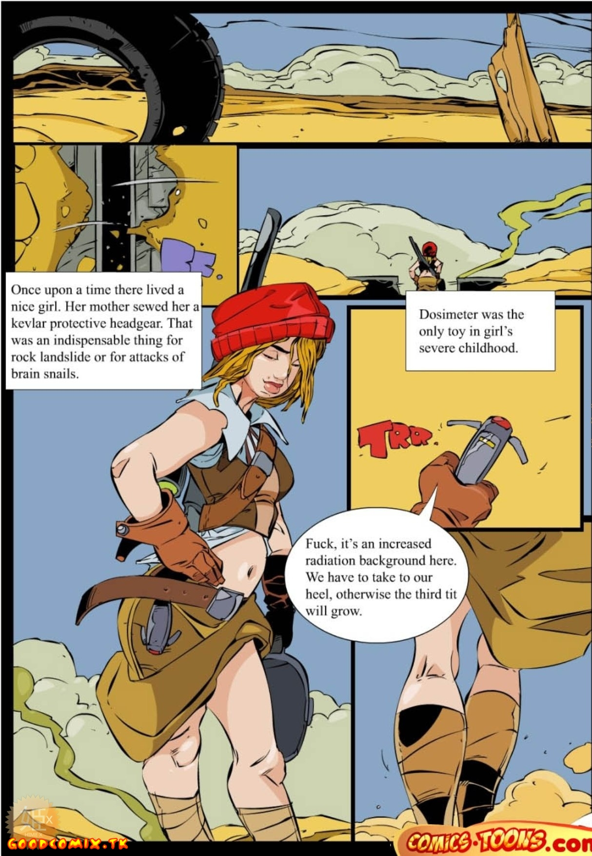 Goodcomix.tk Little Red Riding Hood - [Comics-Toons][Okunev] - The Postapocalyptic Red Riding Hood
