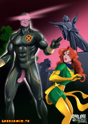 Goodcomix X-Men - [Online SuperHeroes] - Jean Grey and Cyclops Having Kinky Sex In A Cemetery