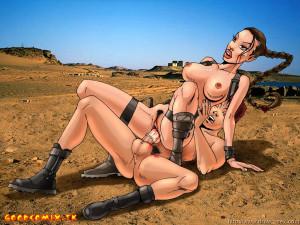 Goodcomix Tomb Raider - [Drawn-Sex][Sinful Comics] - Angelina Croft #2