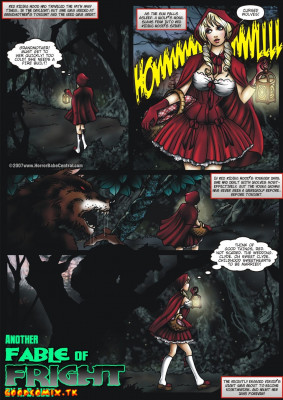 Goodcomix Little Red Riding Hood - [A.B. Lust] - Another Fable Of Fright