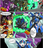 Transformers — [MAD-Project] — Arcee Comic (The Null Zone)