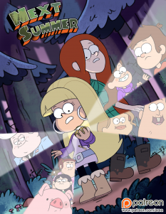 Goodcomix Gravity Falls - [Area] - Next Summer (High Quality)