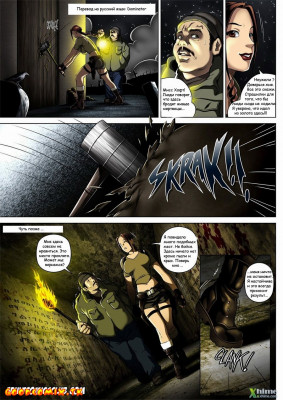 Goodcomix Tomb Raider - [Melkor (Romulo Mancin)] - The Adventures of Sara Hoft - Sara Vs. Zombie