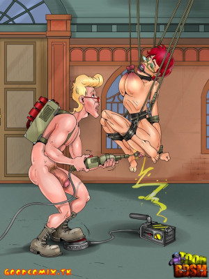 Goodcomix Ghostbusters - [ToonBDSM][Classic] - Tests And Enjoyment Room