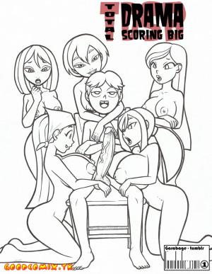 Goodcomix Total Drama Island - [Garabage] - Total Drama Scoring Big