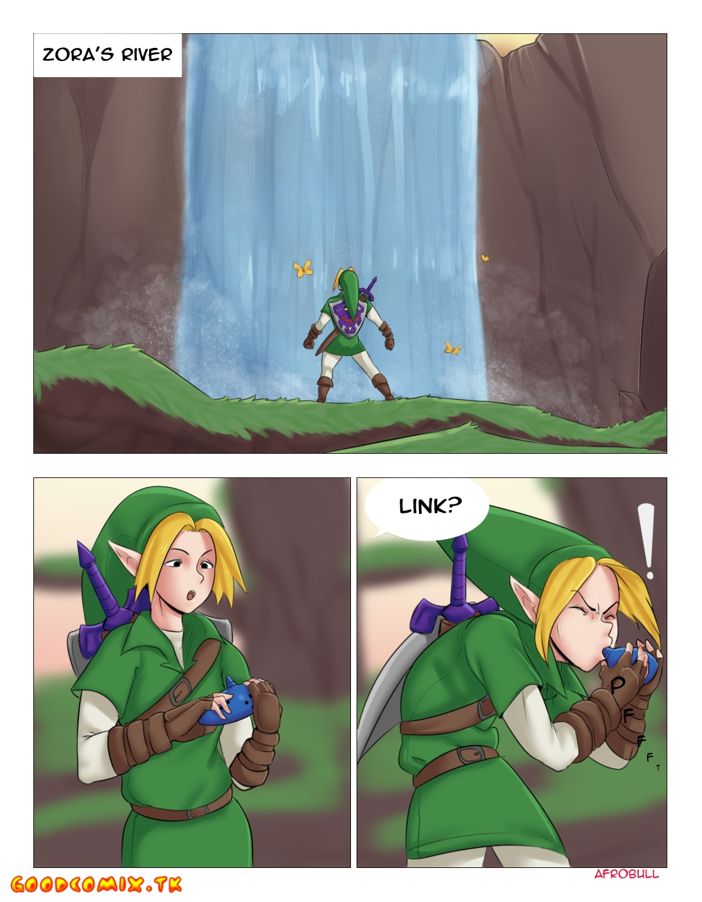 Goodcomix.tk The Legend of Zelda - [Afrobull] - A Riverside Reunion