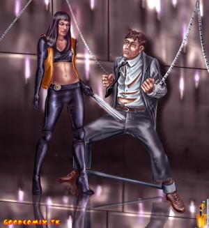 Goodcomix Ultraviolet - Ultra Violet - [Sinful Comics] - Hard Secret Operation