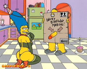 Goodcomix The Simpsons - [Akabur] - Homer And Marge.3 - Birthday in the Kitchen