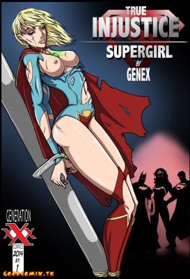 Goodcomix EJustice League - [Genex] True Injustice - Supergirl #1