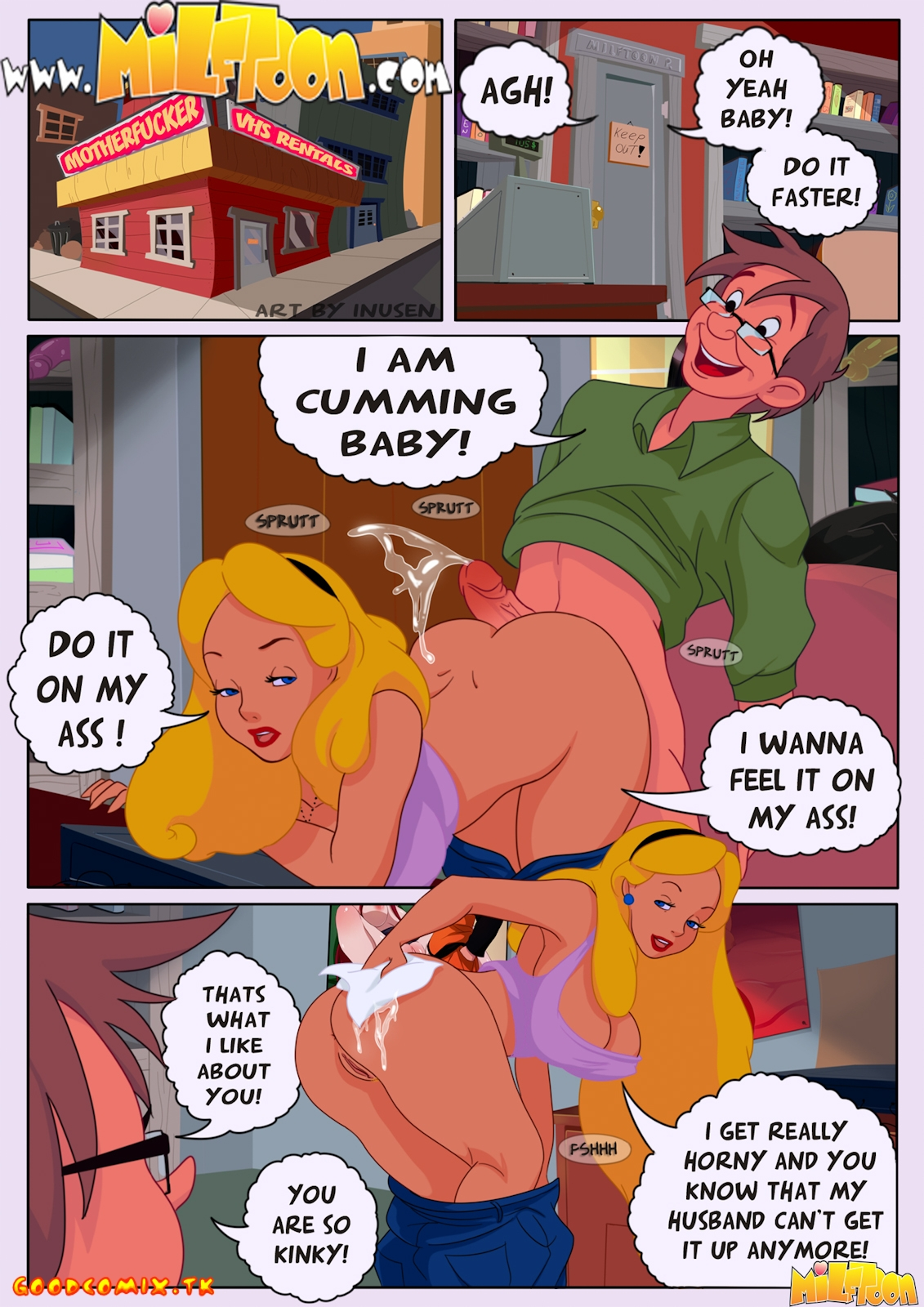 Goodcomix.tk Alice in Wonderland - [Milftoon] - Who the Fuck is Alice