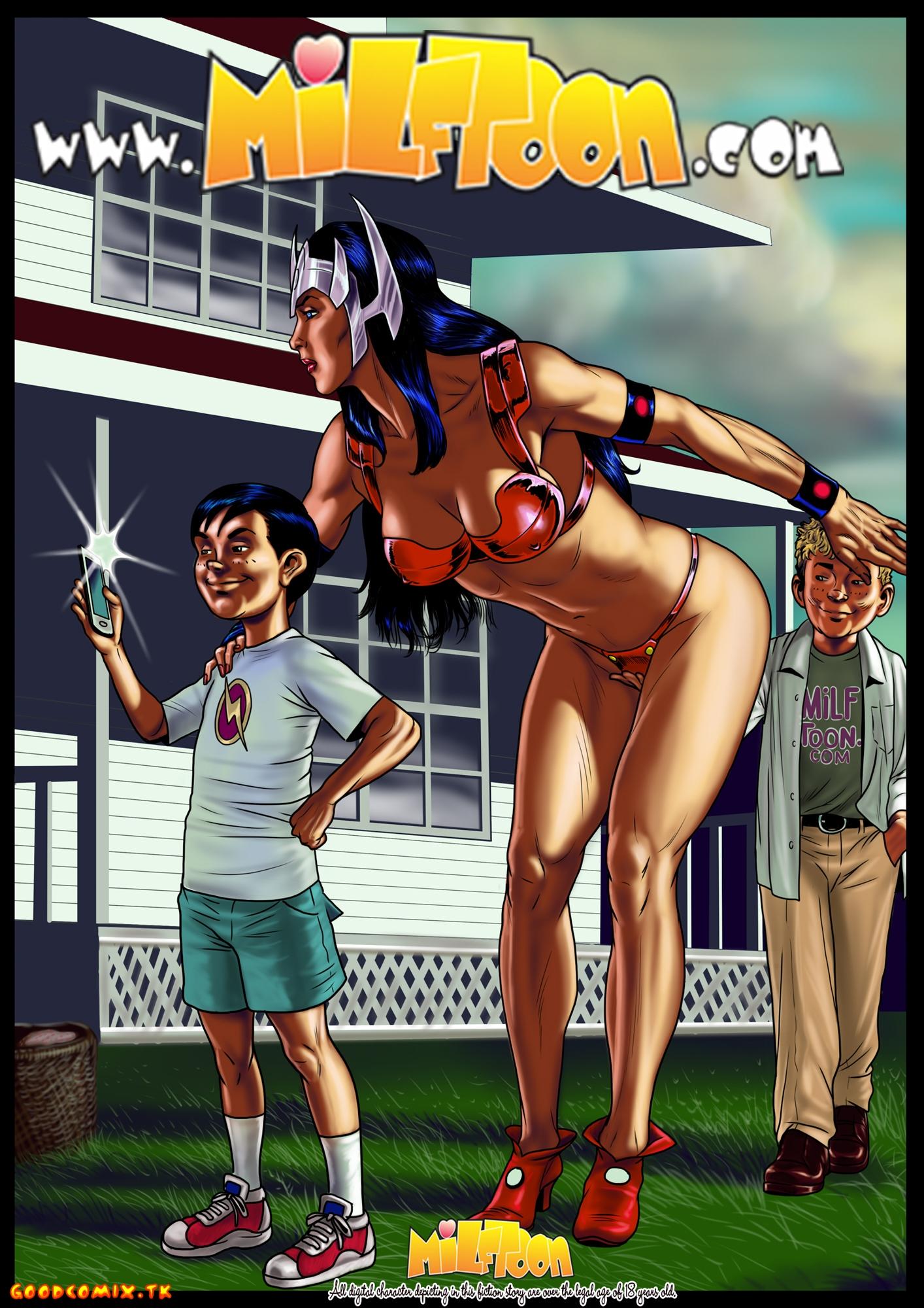 Goodcomix.tk DC Comics - [MilfToon] - Very, Very Hot Big Barda