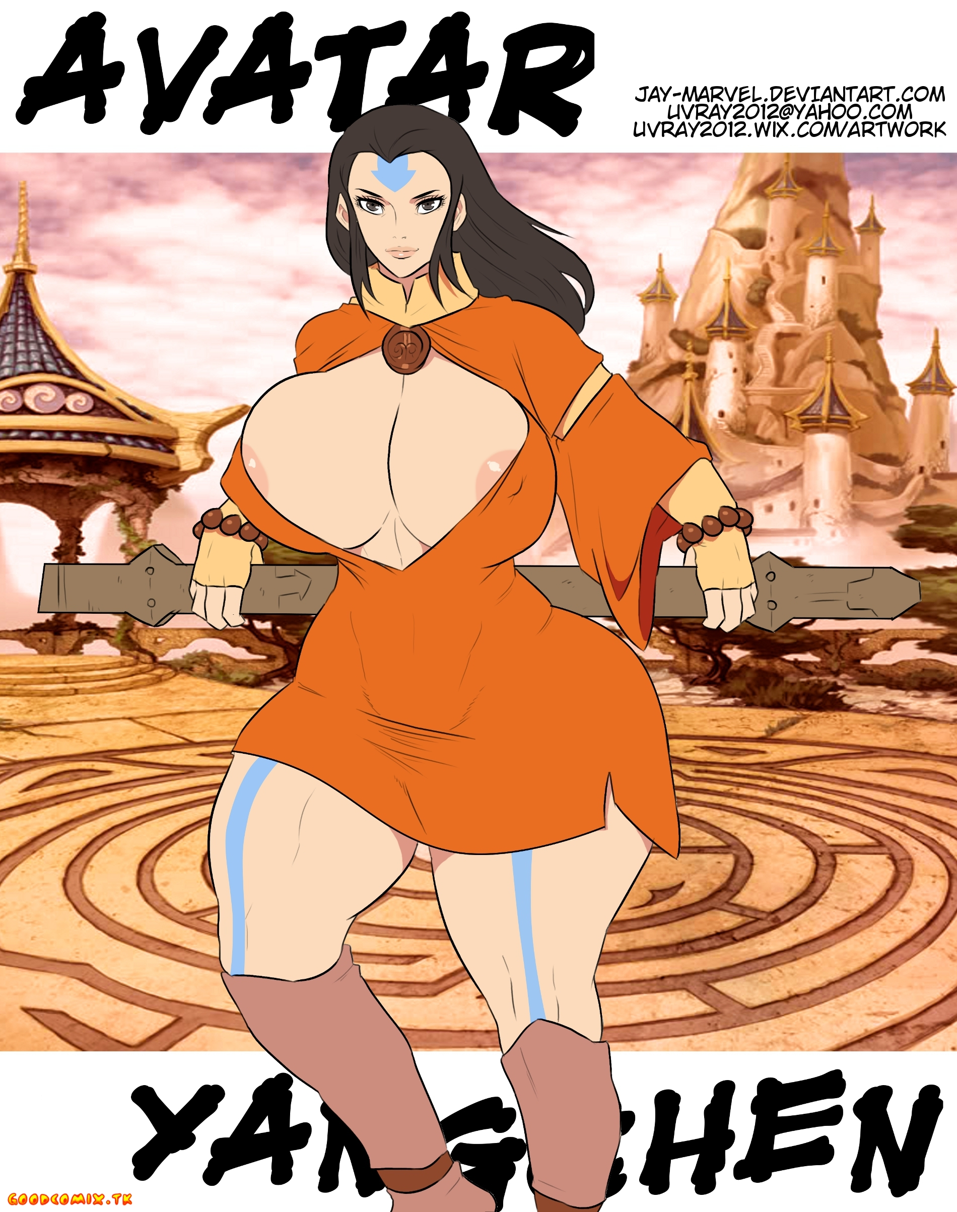 Goodcomix.tk Avatar the Last Airbender - [Jay Marvel] - Avatar Yangchen