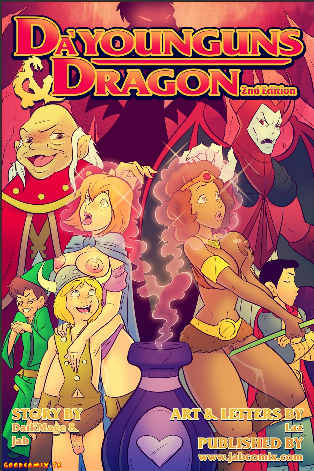 Goodcomix.tk Dungeons & Dragons - [JabComix] - Da'Younguns and Dragon 2nd Edition