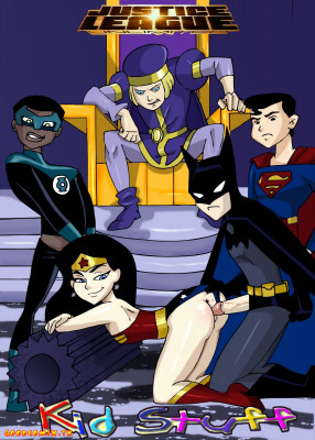 Goodcomix Justice League - [HOTDESIGNS2] - Justice League Unlimited - Kid Stuff