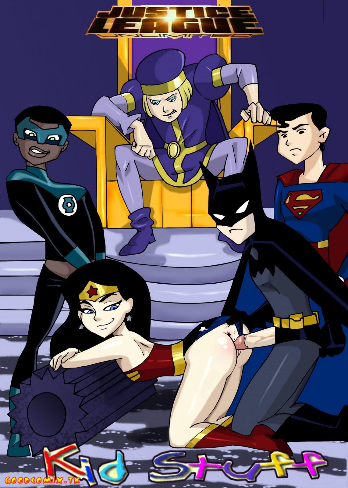 Goodcomix.tk Justice League - [HOTDESIGNS2] - Justice League Unlimited - Kid Stuff