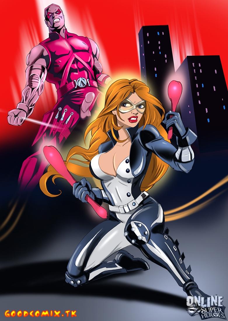 Goodcomix.tk DC Comics - [Online SuperHeroes] - Roy Harper Slips His Meaty Sausage Deep Inside Mockingbird's Wet Nest