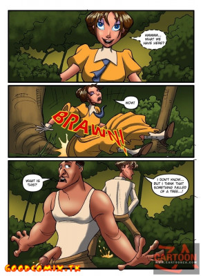 Goodcomix Tarzan - [Cartoonza] - Slut Found Dick