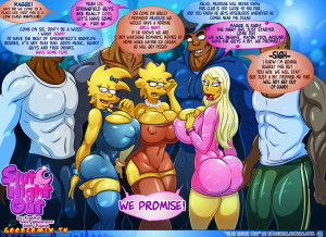 Goodcomix The Simpsons - [Kogeikun] - Slut Night Out