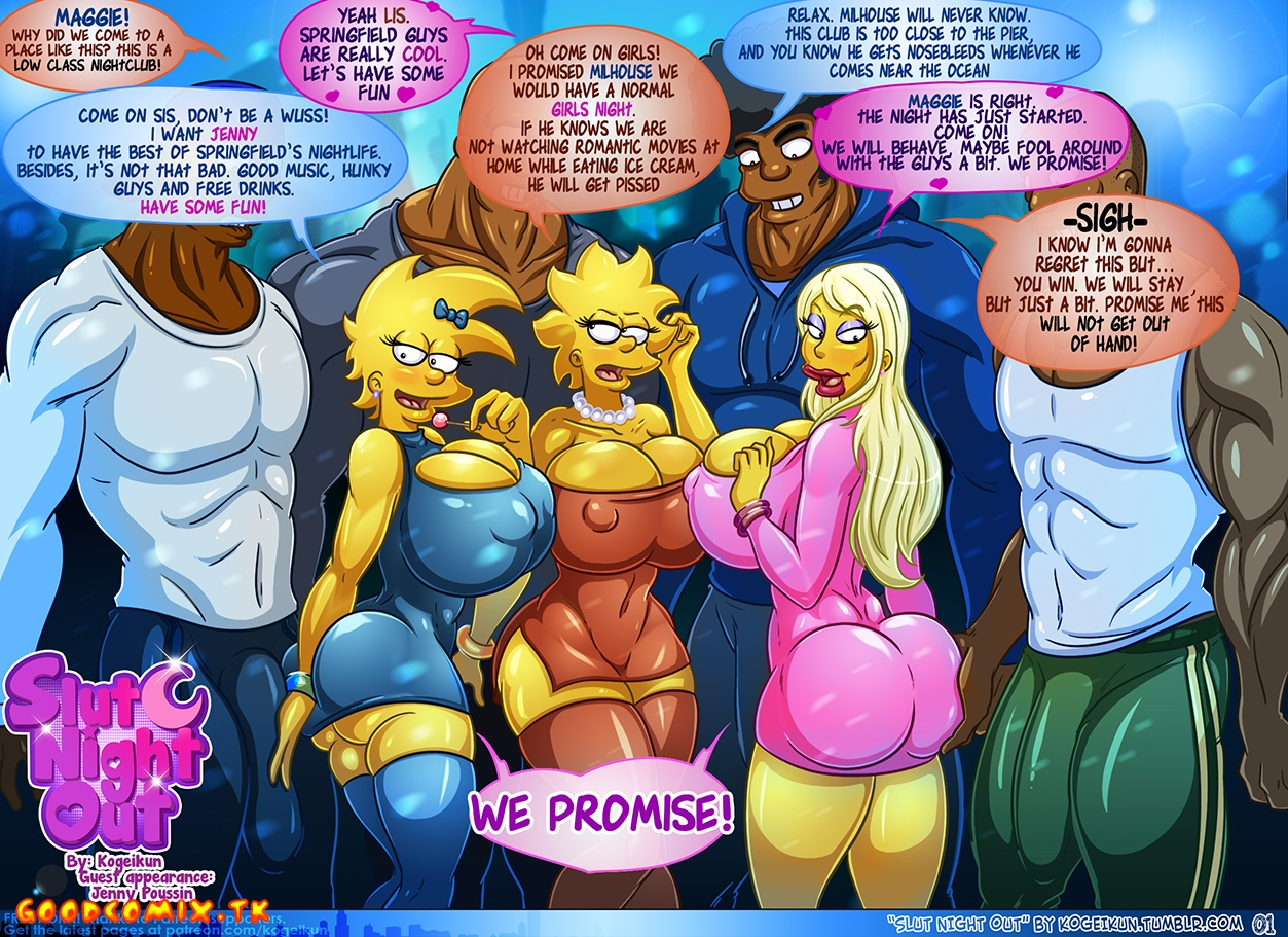Goodcomix.tk The Simpsons - [Kogeikun] - Slut Night Out