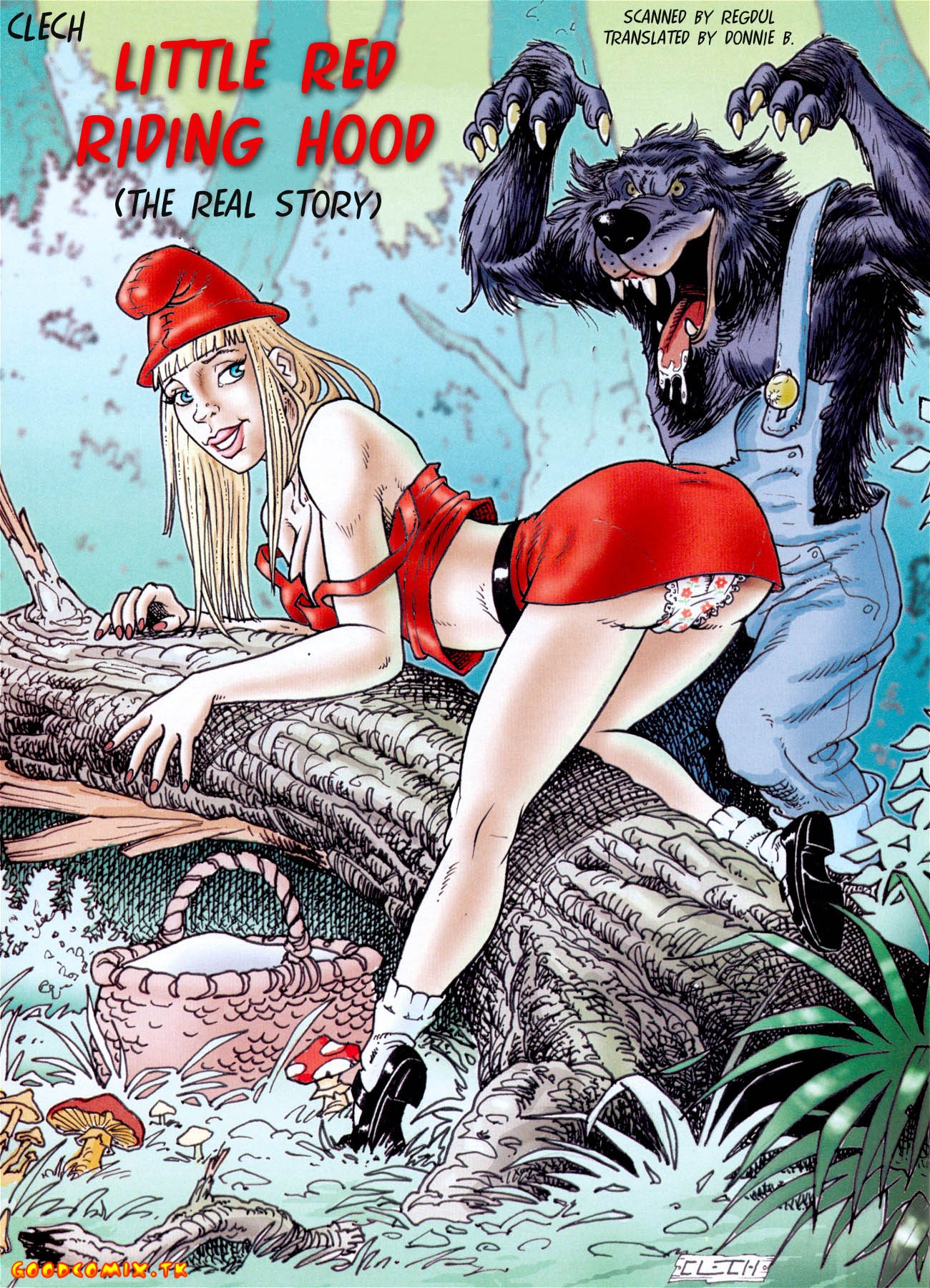 Goodcomix.tk Little Red Riding Hood - [Clech] - The Real Story