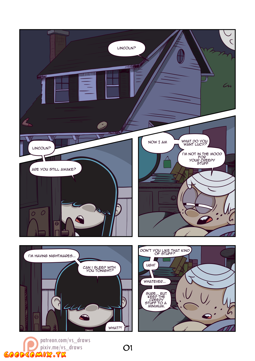 Goodcomix.tk The Loud House - [VS] - Wet Black Hole [WIP]