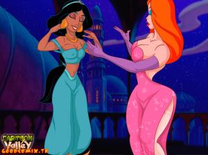 Goodcomix Crossover - [CartoonValley][NEW] - Jessica & Jasmine Lesbo