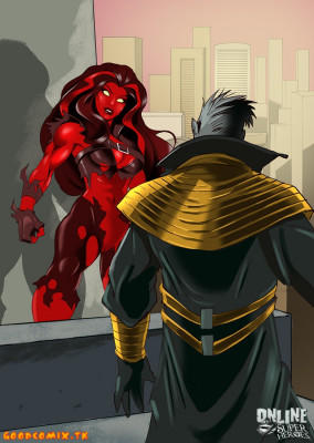 Goodcomix Marvel Universe & Marvel Comics - [Online SuperHeroes] - Xarus and Betty Ross Make The Perfect Sex Team
