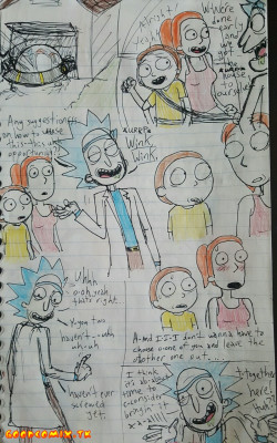 Goodcomix Rick And Morty - [Stickyickysmut] - #1 Intergenerational Sandwhich