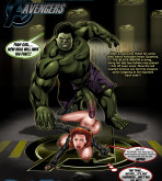 The Avengers - [Smudge] - Black Widow Vs The Hulk