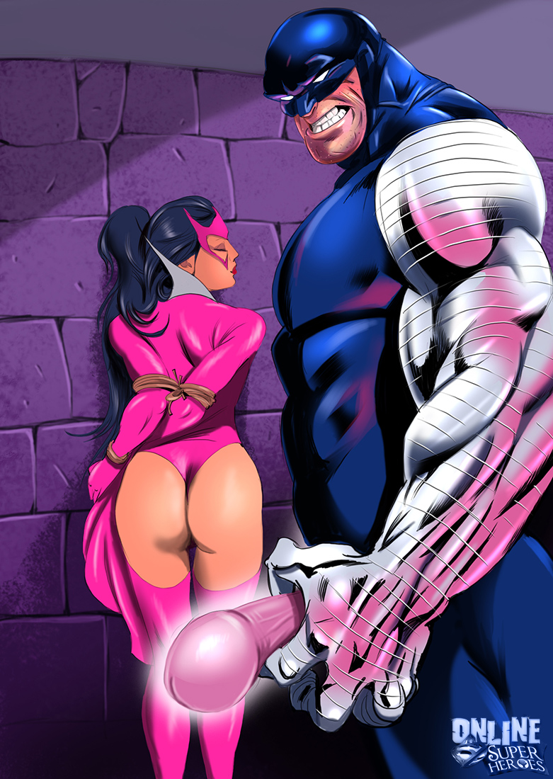 Goodcomix.tk Crossover Heroes - [Online SuperHeroes] - Carol Ferris Acts Out a Hot Bondage Sex Fantasy With Cyber