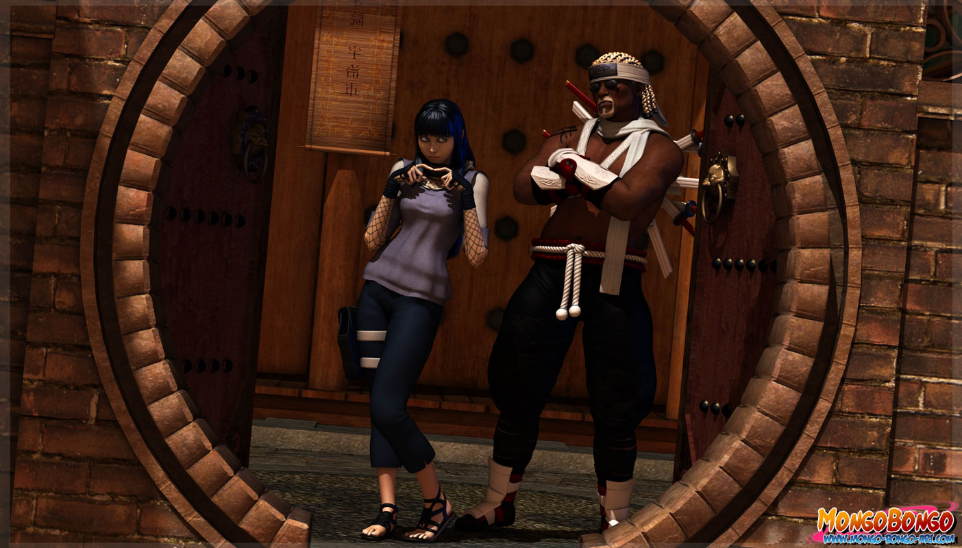 Goodcomix.tk Naruto - [Mongo Bongo] - Hinata & Killer Bee (Chakra Eight-Tails)