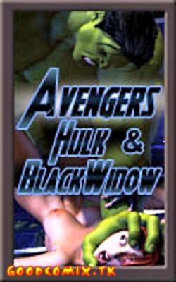 Goodcomix The Avengers - [Mongo Bongo] - Hulk & Black Widow