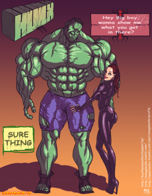 Goodcomix The Avengers - [Mnogobatko] - Hulk vs Black Widow