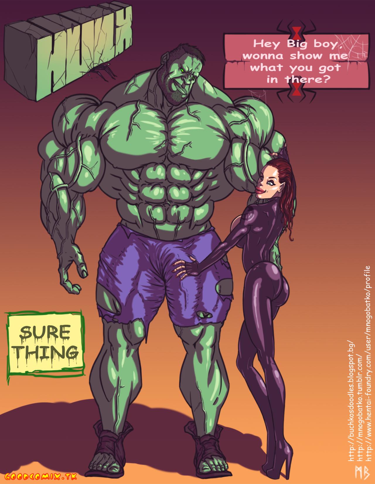Goodcomix.tk The Avengers - [Mnogobatko] - Hulk vs Black Widow