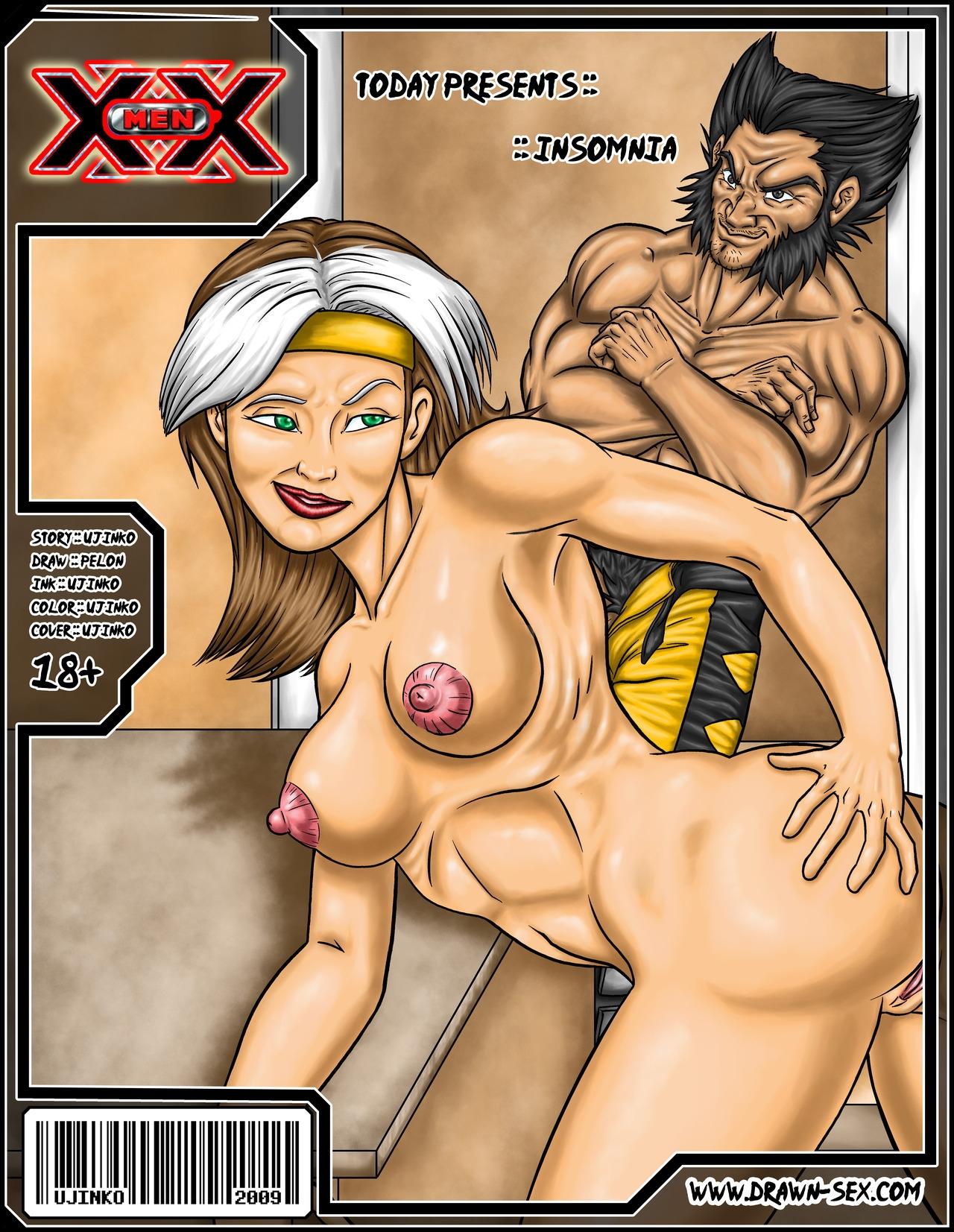 Goodcomix.tk X-Men - [Drawn-Sex][Ujinko] - All Fuck - Insomnia