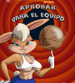 Looney Tunes — [VerComicsPorno][Drah Navlag] — Lola Bunny En Aprobar Para El Equipo!!! — Making The Team!!!