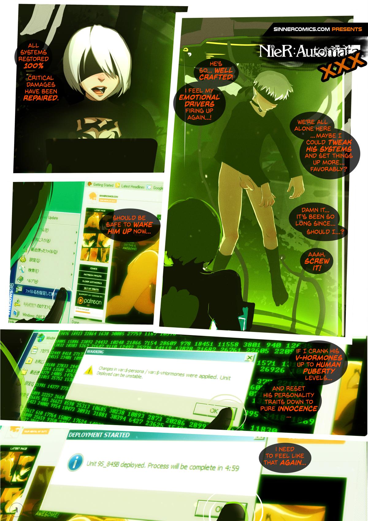 Goodcomix.tk NieR Automata - [Sillygirl] - NieR Automata XXX