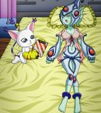 Digimon Adventure - [Palcomix][DigiHentai] - Ranamon's Fan
