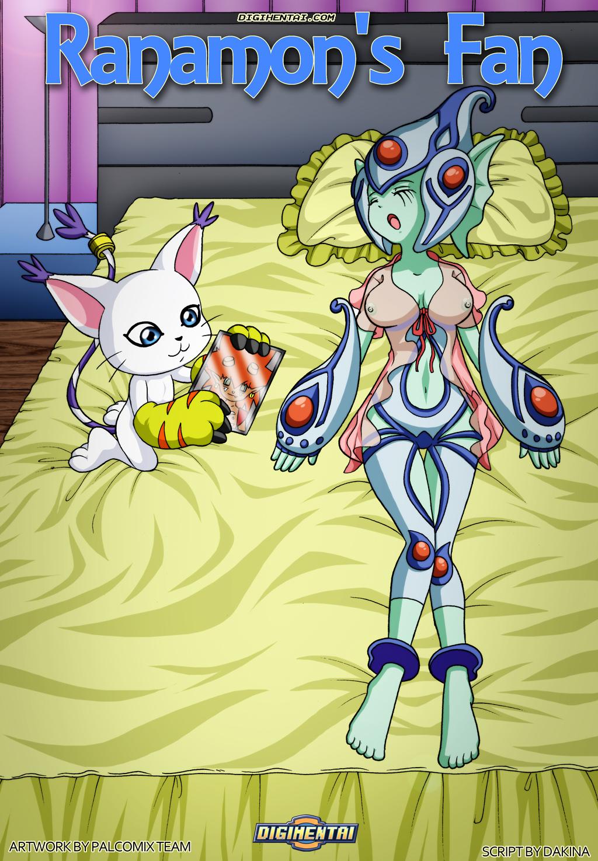 Goodcomix.tk Digimon Adventure - [Palcomix][DigiHentai] - Ranamon's Fan